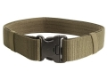 "BlackHawk Enhanced Military Web Belt 2-1/4"" with 3-Point Release Nylon Web Olive Drab 44 to 49"""