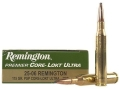 Remington Premier Ammunition 25-06 Remington 115 Grain Pointed Soft Point Core-Lokt Ultra Bonded Box of 20