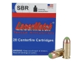SBR LaserMatch Tracer Ammunition 45 ACP 230 Grain Full Metal Jacket SRVT Box of 20