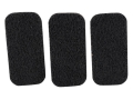 ERGO Gripits Pistol Grip Front Strap Grip Panels Black Package of 3