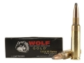 Wolf Gold Ammunition 7.5mm Schmidt-Rubin (7.5x55mm Swiss) 174 Grain Soft Point Box of 20