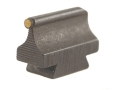 "Product detail of Williams Front Sight .406"" Height .250"" Width Steel Blue 1/16"" Gold Bead"