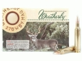 Product detail of Weatherby Ammunition 270 Weatherby Magnum 130 Grain Nosler Partition Box of 20