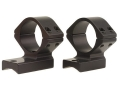 Talley Lightweight 2-Piece Scope Mounts with Integral 1&quot; Extended Front Savage 10 Through 16, 110 Through 116 Round Rear, Axis Matte Low