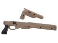 Product detail of Victor Company Viperskins Accuracy International Chassis System (AICS) Short Action 1.5 Dark Earth