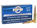Prvi Partizan Ammunition 6.5x54mm Mannlicher-Schoenauer 156 Grain Round Nose Soft Point Box of 20