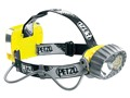 Petzl DUO 14 Waterproof Rechargeable 67 Lumen LED Headlamp Black and Yellow