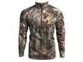 Core4Element Men's Assault 1/4 Zip Midweight Shirt Long Sleeve Polyester
