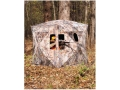 Big Game Redemption Ground Blind 77&quot; x 77&quot; x 70&quot; Polyester Epic Camo
