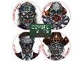 Lyman Zombie Dot Variety Pack Target 8&quot; Self-Adhesive Package of 12