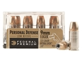 Product detail of Federal Premium Personal Defense Reduced Recoil Ammunition 9mm Luger 135 Grain Hydra-Shok Jacketed Hollow Point Box of 20