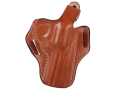 "DeSantis Thumb Break Scabbard Belt Holster Right Hand Smith & Wesson L-Frame 386PD, 581, 586, 681, 686 4"" Barrel Leather Tan"