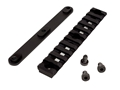 "Lancer Systems Picatinny Rail 4"" Fits Lancer LCH Vented Carbon Fiber Handguards Aluminum Black"