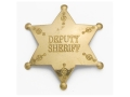 Collector&#39;s Armoury Replica Old West Deputy Sheriff Badge Brass