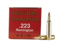 Product detail of Black Hills Ammunition 223 Remington 40 Grain Hornady V-Max Box of 50