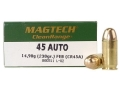 Magtech Clean Range Ammunition 45 ACP 230 Grain Encapsulated Round Nose Case of 1000 (20 Boxes of 50)