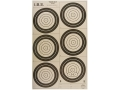 Product detail of National Target International Bench Rest Shooters Target IBS 200 YD Hunter Rifle Paper Package of 100