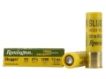 "Remington Slugger Ammunition 20 Gauge 2-3/4"" 1/2 oz High Velocity Rifled Slug Box of 5"
