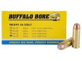 Product detail of Buffalo Bore Ammunition 45 Colt (Long Colt) 300 Grain Jacketed Flat Nose Box of 50