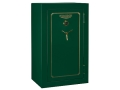 Stack-On Total Defense 32-Gun Fire-Resistant and Waterproof Safe with Combination Lock & Flex Interior High Gloss Hunter Green