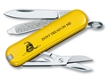 Victorinox Swiss Army Classic SD Folding Pocket Knife 7 Function Stainless Steel Blade Polymer Handle Don't Tread on Me