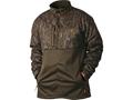 Drake Men's Non-Typical Silencer Double Impact 1/4 Zip Jacket Polyester