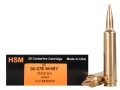 HSM Trophy Gold Ammunition 30-378 Weatherby Magnum 185 Grain Berger Hunting VLD Hollow Point Boat Tail Box of 20
