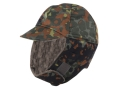 Military Surplus New Condition German Cold Weather Cap Flectarn Camo Large