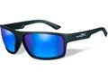 Wiley X Peak Sunglasses Matte Black Frame Polarized