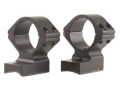 "Talley Lightweight 2-Piece Scope Mounts with Integral 1"" Rings Winchester 70 Post-64 with .330 Rear Mount Hole Spacing Matte Medium"