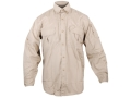 "Woolrich Elite Lightweight Operator Shirt Long Sleeve Cotton Khaki Large (42"" to 44"")"
