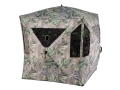 Ameristep Mountaineer Ground Blind 75&quot; x 75&quot; x 67&quot; Polyester Realtree Max-1 Camo