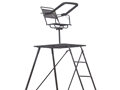 Rivers Edge Perimeter Pod 10' Tripod Stand Steel Black