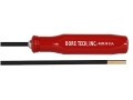 "Bore Tech V-Stix 1-Piece Cleaning Rod 270 Caliber 40"" Coated Steel 8 x 32 Thread"