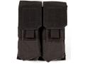 Blackhawk S.T.R.I.K.E. MOLLE M4/M16 Double Magazine Pouch Holds 4 AR-15 30 Round Magazine Nylon Black