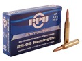 Product detail of Prvi Partizan Ammunition 25-06 Remington 90 Grain Hollow Point Box of 20