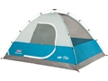 "Coleman Long Peak Fast Pitch 4 Man Dome Tent 84""x84""x59"" Polyester Blue and White"