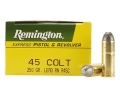 Remington Express Ammunition 45 Colt (Long Colt) 250 Grain Lead Round Nose Box of 50