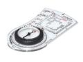 Brunton O.S.S. 40B Adventure Racing Compass with Tool Free Declination
