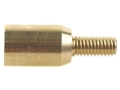 Dewey Thread Adapter Converts 10-32 Male to 5/16 x 27 Female Brass