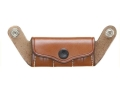 Hunter 5900 Pro-Hide Ammunition Pouch for 5100 Shoulder Harness Right Hand Leather Brown