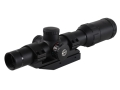 Hawke XB30 Crossbow Scope 1.25-4x 24mm Red and Green Illuminated SR Reticle Matte