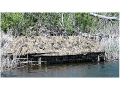 Beavertail 1800 Boat Blind Nylon Mossy Oak Break-Up Camo