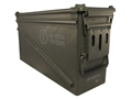 "Military Surplus Ammo Can 40mm 17"" x 6-1/2"" x 10-1/2"""