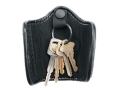 Uncle Mike's Silent Key Ring Holder Mirage Nylon Laminate Black