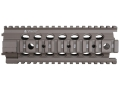 Product detail of Troy Industries 7&quot; MRF-C Battle Rail Free Float Quad Rail Handguard AR-15 Flat Dark Earth