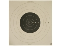 NRA Official High Power Rifle Target MR 500 Yard Slow Fire Paper Package of 25