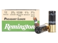 Remington Pheasant Ammunition 12 Gauge 2-3/4&quot; 1-1/4 oz #7-1/2 Shot Box of 25
