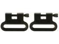 The Outdoor Connection Brute Sling Swivels 1-1/4&quot; Polymer Black (1 Pair)