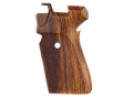 Hogue Fancy Hardwood Grips Sig Sauer P239 Checkered Cocobolo